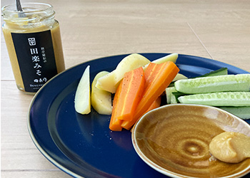 白味噌の野菜ディップ
